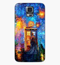 Mysteriöser Mann am schönen Regenbogen-Platz Hülle & Klebefolie für Samsung Galaxy