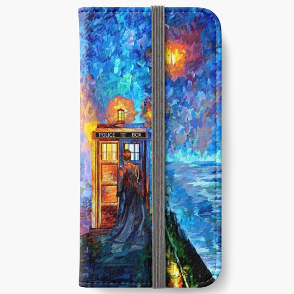 Mysterious Man at beautiful Rainbow Place iPhone Wallet