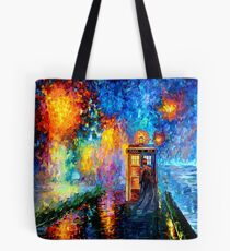 Mysterious Man at beautiful Rainbow Place Tote Bag