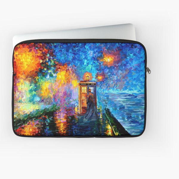 Mysterious Man at beautiful Rainbow Place Laptop Sleeve