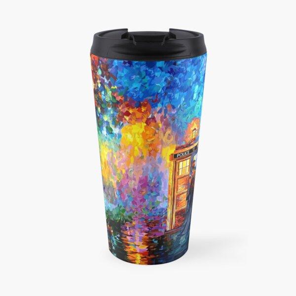 Mysterious Man at beautiful Rainbow Place Travel Mug