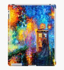 Mysterious Man at beautiful Rainbow Place iPad Case/Skin