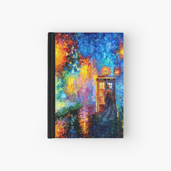 Mysterious Man at beautiful Rainbow Place Hardcover Journal