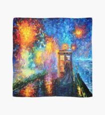 Mysterious Man at beautiful Rainbow Place Scarf