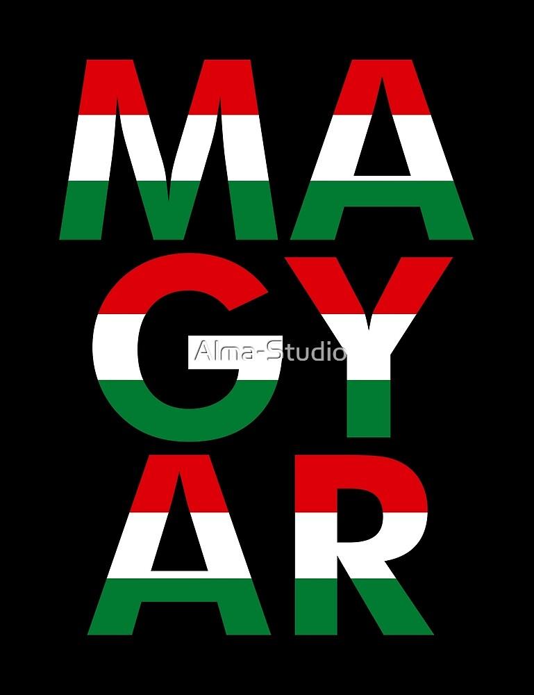 Magyar, black bg by Alma-Studio