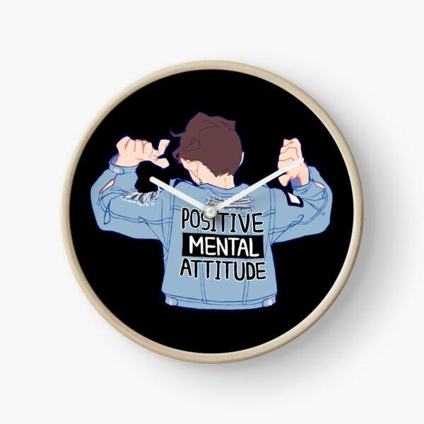 Positive Mental Attitude! Clock