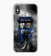 Mysterious man in the mist iPhone Case