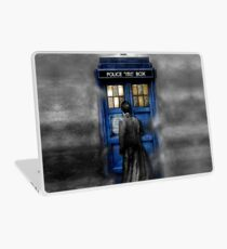 Mysterious man in the mist Laptop Skin