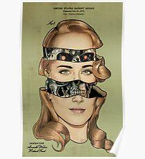 Westworld/Terminator Mash Up Patent  Poster
