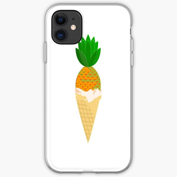 Pineapple Cone iPhone Soft Case