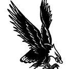 Eagle Tattoo Flash by Ryan Taft