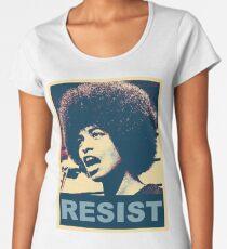 Angela -RESIST Women's Premium T-Shirt