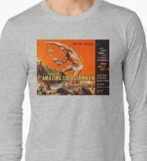 Colossalman, vintage horror movie poster Long Sleeve T-Shirt