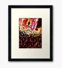 It's a Small World Holiday Framed Print