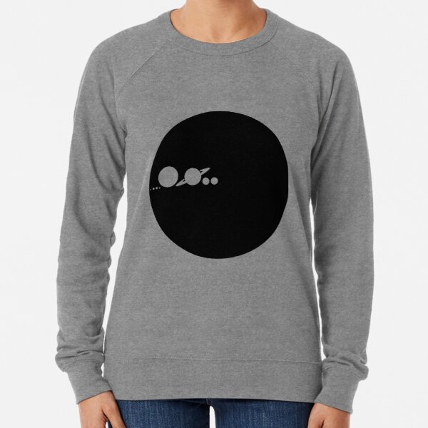 Solar Scale Minimalism Lightweight Sweatshirt