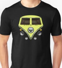 kawaii yellow love bug mini bus Unisex T-Shirt