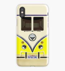 kawaii yellow love bug mini bus iPhone Case/Skin