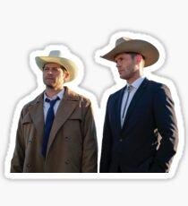 Cowboy Boyfriends- Destiel Sticker