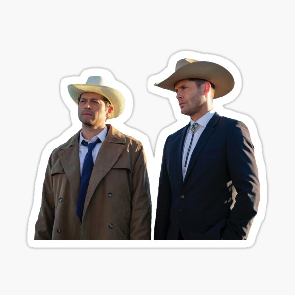 Cowboy Boyfriends- Destiel Sticker
