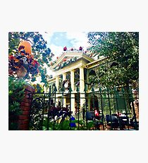 Daytime Haunted Mansion Photographic Print
