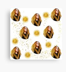 Beyonce Golden QUeen Canvas Print