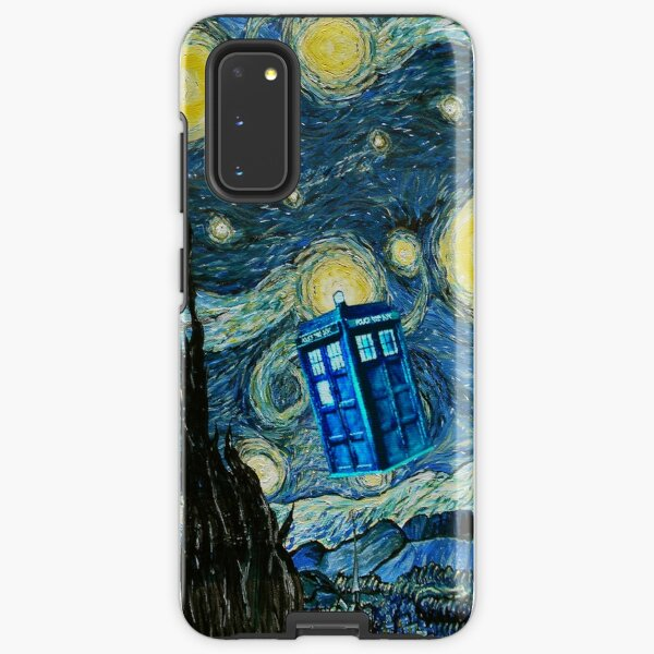 Flying British Phone Box Samsung Galaxy Tough Case