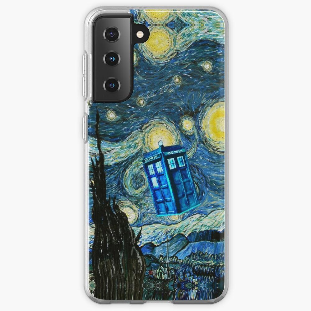 Flying British Phone Box Case & Skin for Samsung Galaxy