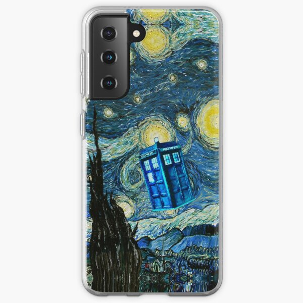 Flying British Phone Box Samsung Galaxy Soft Case