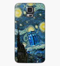 Flying British Phone Box Case/Skin for Samsung Galaxy