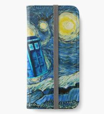 Flying British Phone Box iPhone Wallet/Case/Skin