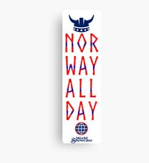 Norway All Day Canvas Print