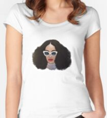 Solange Knowles Women's Fitted Scoop T-Shirt