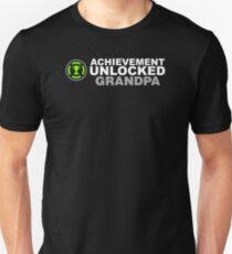 Achievement Unlocked Grandpa Unisex T-Shirt