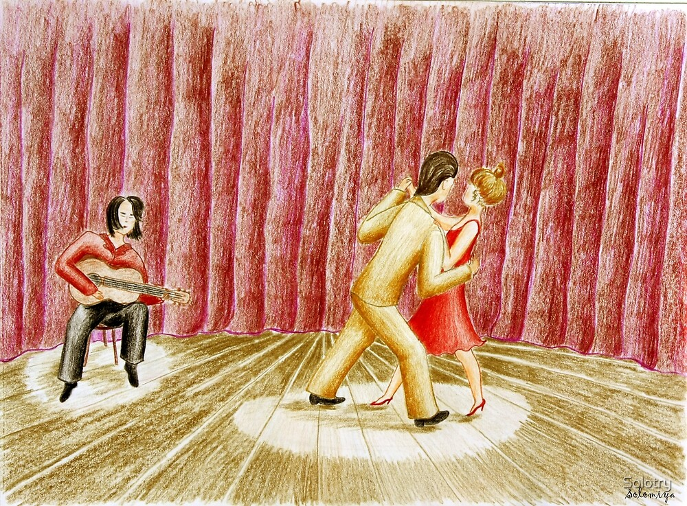 Argentine tango by Solotry