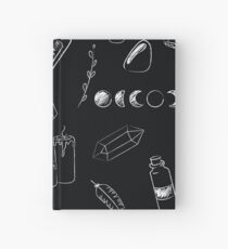 Witchy Stuff in black Hardcover Journal