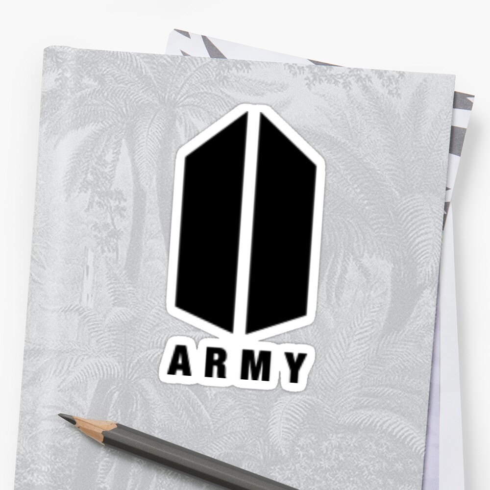 Bts Sticker Logo