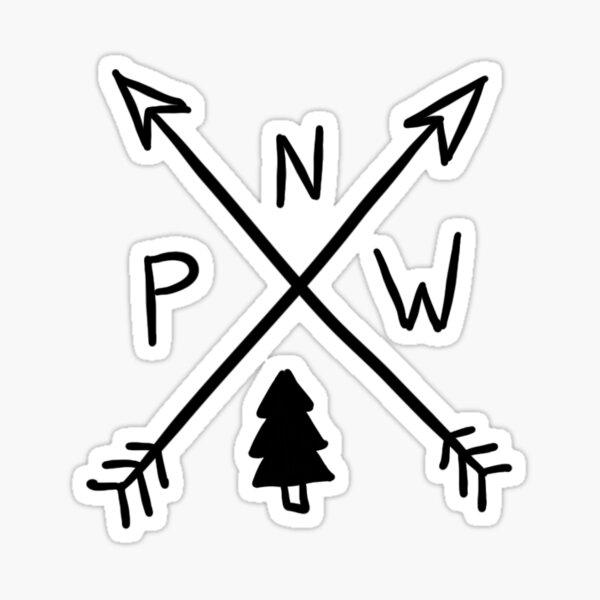 Pacific North West Sticker