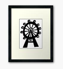 Ferris Wheel - London Eye Framed Print