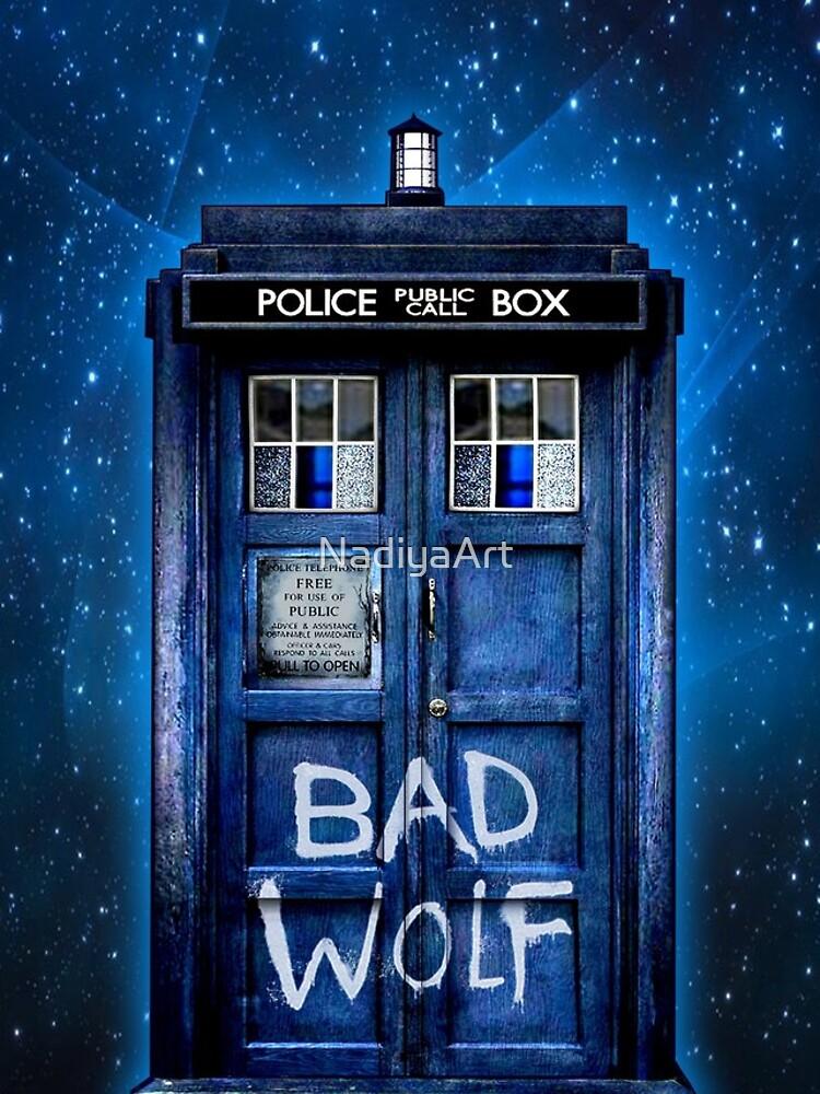 Bad Wolf by NadiyaArt
