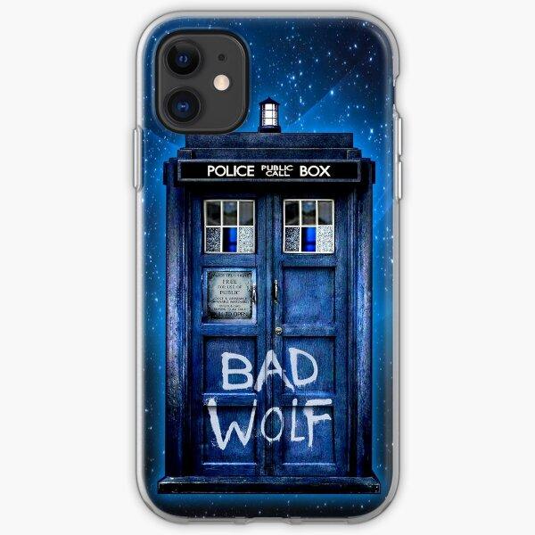 Böser Wolf iPhone Flexible Hülle