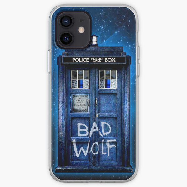 Bad Wolf iPhone Soft Case