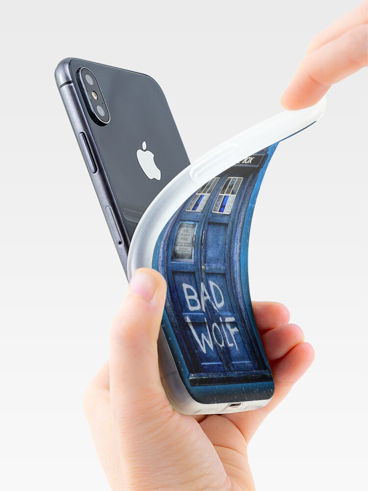 Alternate view of Bad Wolf iPhone Case