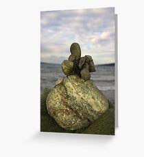 Cairn large Greeting Card