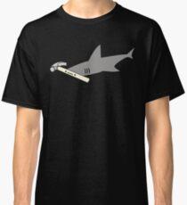 Cute Cartoon Hammerhead Shark Pun Classic T-Shirt