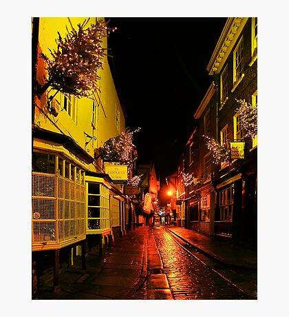 Shambles by night Photographic Print