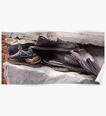 Hutong shoes Poster
