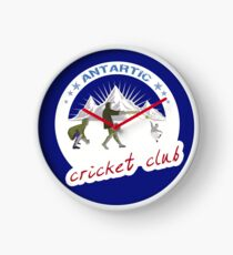 Antarctic Cricket Club Clock