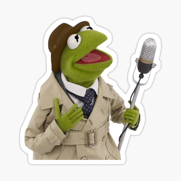 Kermit the Frog - News 3 Sticker