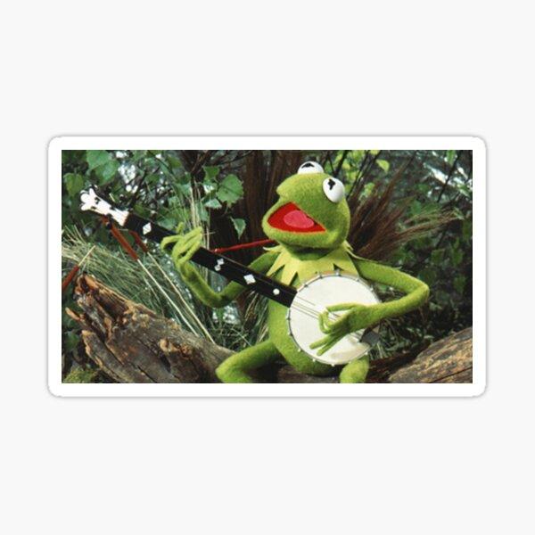 Kermit the Frog - Banjo Sticker