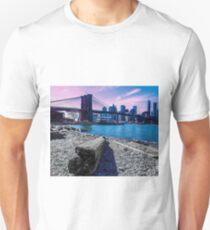Pastel Brooklyn Bridge T-Shirt